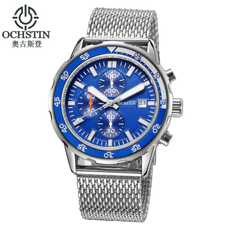 Luxury Brand OCHSTIN Sports Watches Men Chronograph Date Clock Army Military Casual Quartz Men's Wrist Watch Relogio Masculino