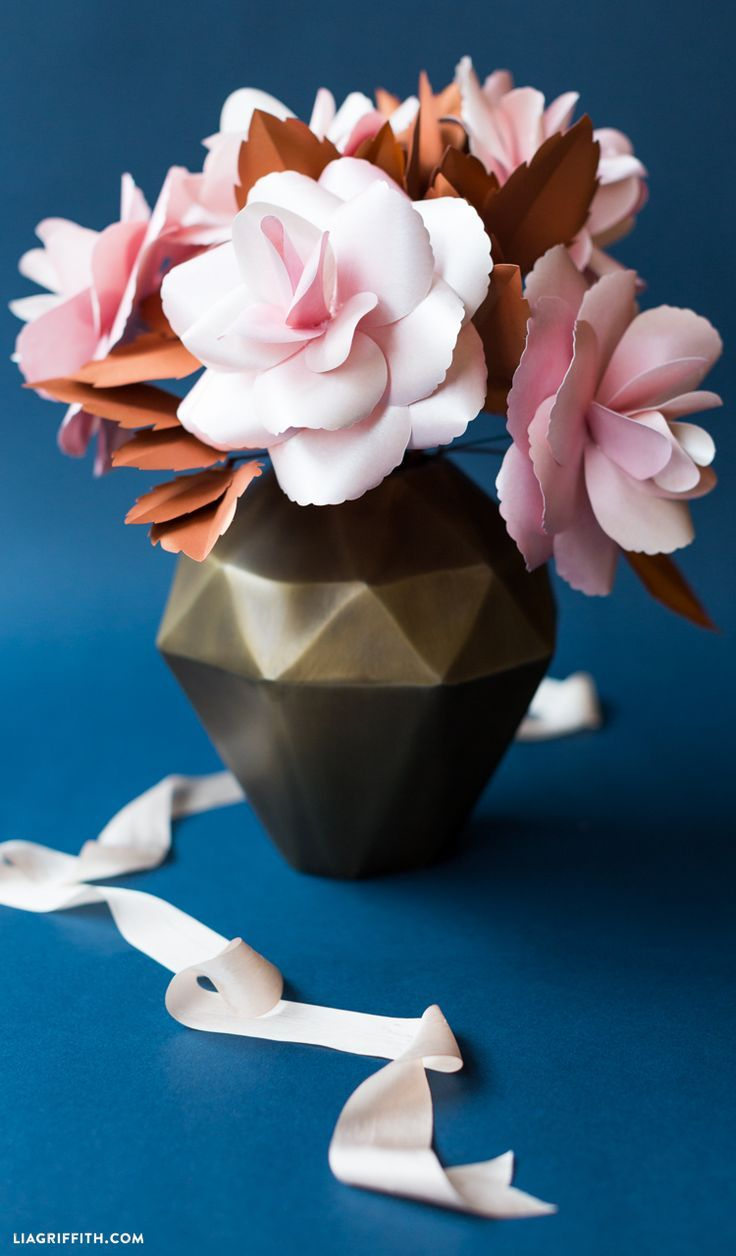 137 Best Paper Flowers Images Flower Rh Com Free Printable Pictures