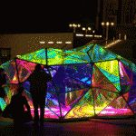 GIF / Cityscope, Illuminated Urban Kaleidoscope