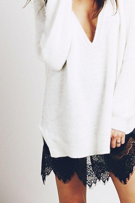 Comment porter la robe en hiver ?   Bien habillée