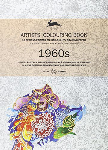 1960s ARTISTSCOLOURING BOOK Artists Colouring Books By Pepin Van Roojen