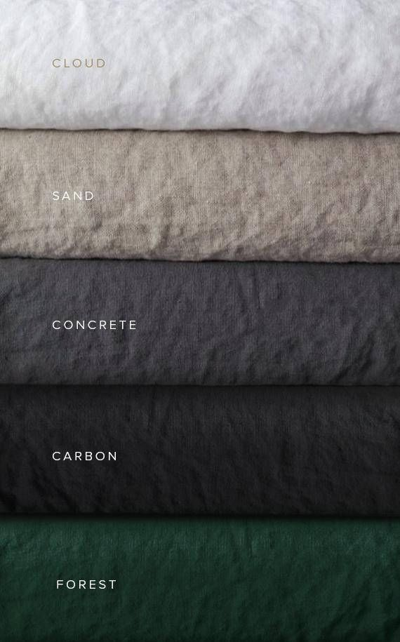 Scandinavian style 100% linen bedding will add unique style to your bedroom. It consists of 3 items - 1 fitted sheet, 1 duvet cover and 2 pillowcases + linen bag. Created with an architectural principle in mind: Form Follows Function. Minimalist style.  Duvet cover construction: Duvet