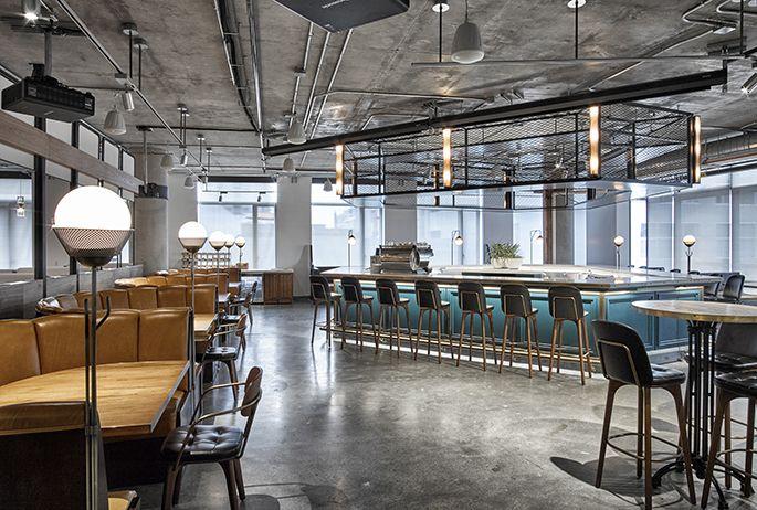 SF TECH COMPANY FOOD HALL | AvroKo | A Design and Concept Firm