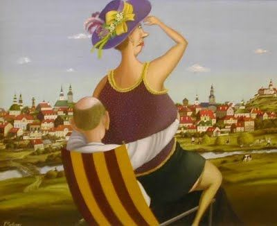 Valentin Gubarev. Convenient Place for Survey of the City Sights