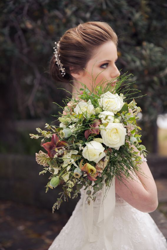 Two brides  Bridal Bouquets by The Lillipillian  Photography by Wonderlust Studios