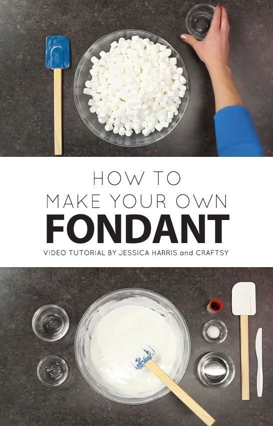 How To Make Fondant For Cakes Without Marshmallows