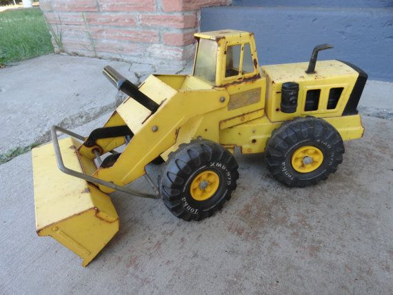 Hey, I found this really awesome Etsy listing at https://www.etsy.com/listing/155497557/1970s-tonka-truck-front-end-loader
