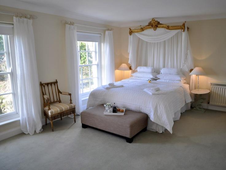Love The White Muslin Curtains