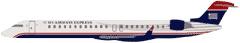 Express: Canadair Regional Jet (CRJ900)  Capacity: 79 seats (9 First/70 Coach)   Lavatories: 2