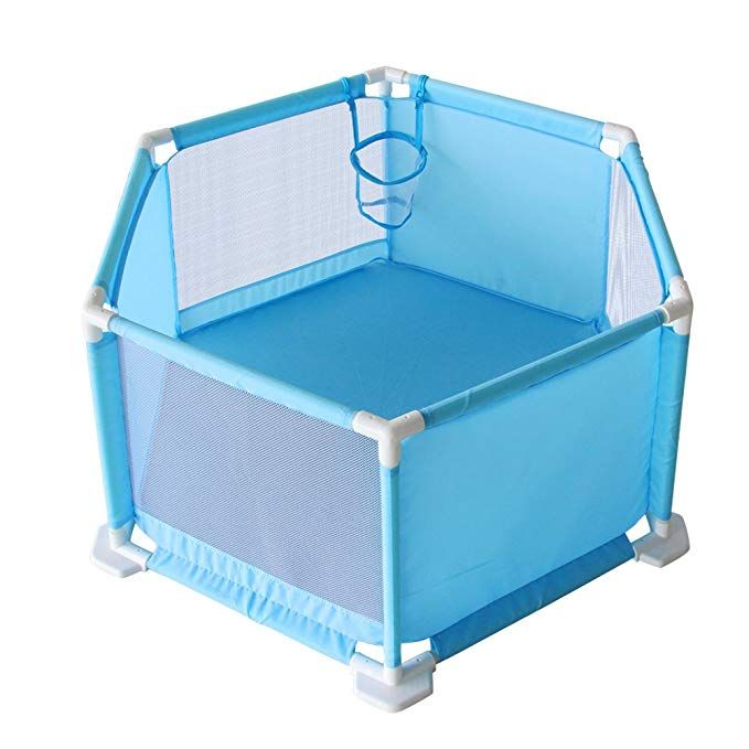 Fajiabao Child Safety Fence Ball Pit Tent Ball Pit Playpen Play Yard Breathable Mesh Portable Indoors Outdoors Pa Baby Play Yard Ball Pit Playpen Ball Pit Tent