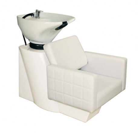 Salon Furniture  Deco Fab Shampoo Chair Station   White. 34 best images about Salon Shampoo Stations on Pinterest