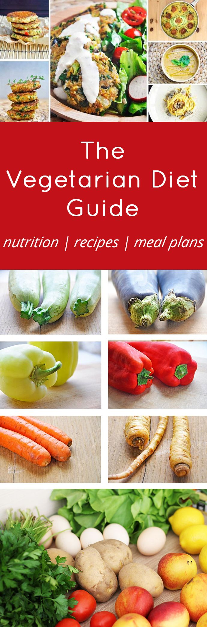Vegetarian Diet Plan Guide - Vegetarian diets are becoming exceedingly popular these days. In this article, you will learn the basics of a vegetarian diet and what to keep in mind when you create a healthy vegetarian diet plan. https://gourmandelle.com/vegetarian-diet-plan-guide/