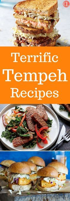 Whether you're looking to cut back on your animal protein intake or you just can't bear another tofu scramble, tempeh is a healthy and versatile soy product that is a great way to shake things up in the kitchen. These great vegetarian and vegan recipes feature tempeh. | Cooking Light