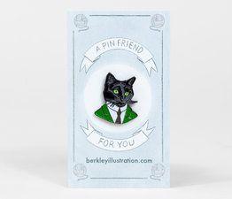 berkley-black-cat-gentleman-enamel-pin