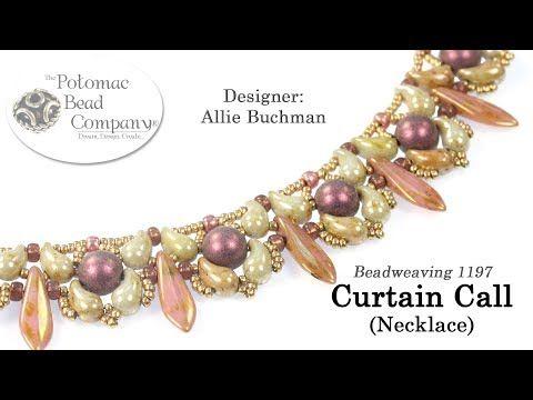(76) Curtain Call Necklace (Tutorial) - DIY - YouTube
