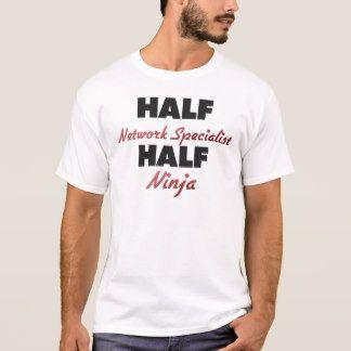 Half Network Specialist Half Ninja T-Shirt