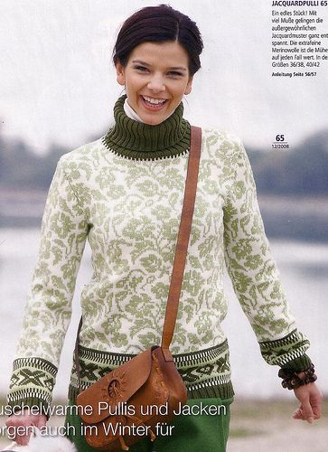 Ravelry: # 65 Jaquardpulli pattern by Burda Design Team