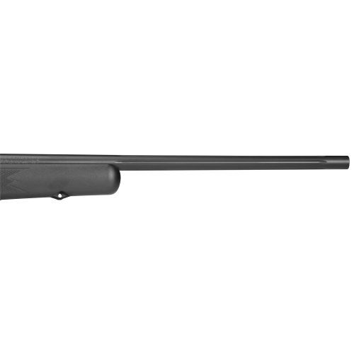 The Mossberg® 100ATR .308 Winchester Bolt-Action Rifle with Scope features a 3 - 9 x 40 variable scope and a free-floating, button-rifled barrel.