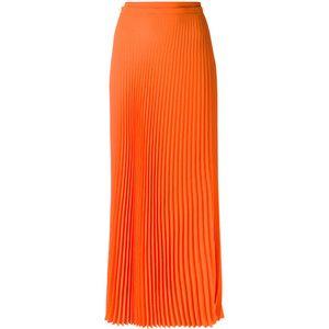 Haider Ackermann long pleated skirt