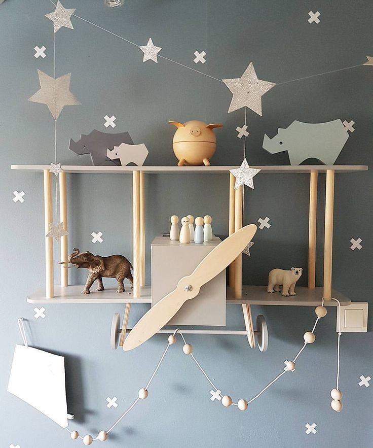 grey wall in this sweet and calming gender neutral nursery
