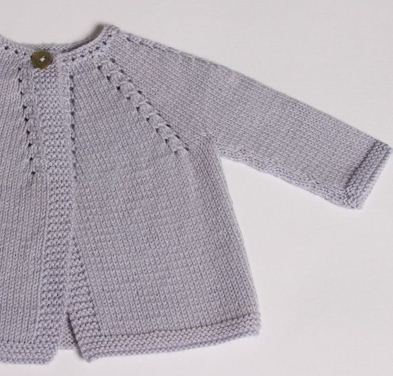 Knitting Pattern Baby Cardigan Instructions by LittleFrenchKnits