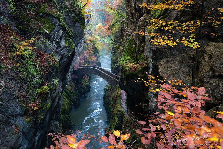 Gorges de l'Aruse Switzerland