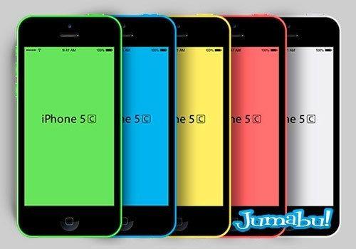 Iphone 5c En Photoshop Mock Up Jumabu Design Tools Vectorizados Iconos Vectores