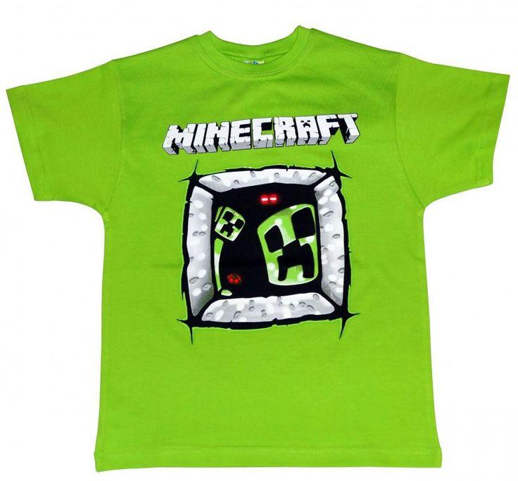 T-shirt dla gracza MINECRAFT'a r.134 PL - NOWOŚĆ