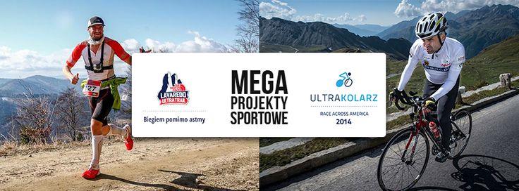 Z Astmą po Koronę Ultramaratonów: http://polakpotrafi.pl/projekt/korona  Polski Ultrakolarz w Race Across America solo: http://polakpotrafi.pl/projekt/ultrakolarz