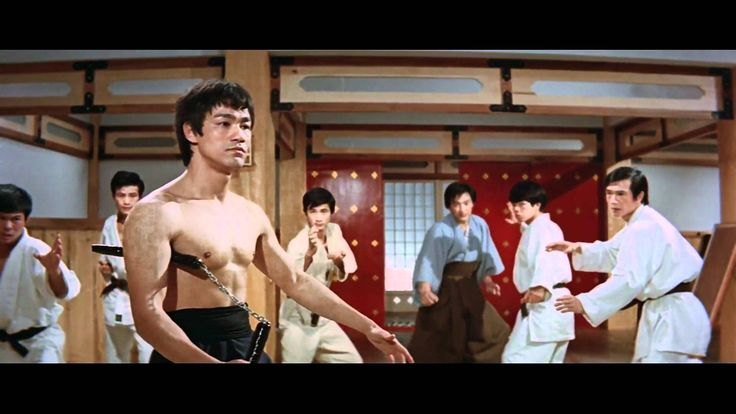 Bruce Lee - Fist of fury [HD]  Chen Zhen (Bruce Lee) defeating students of…