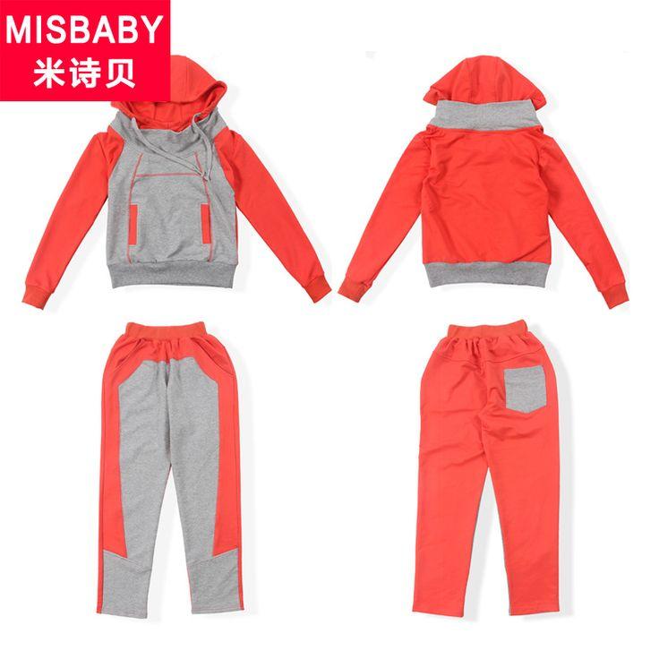 M poesía de Tony niñas otoño damas muchacho grande de deportes de la ropa 89101112131415 años traje Lynx
