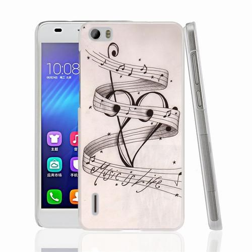 MUSIC NOTES MUSIC IS LIFE Cover phone Case for Sony Xperia