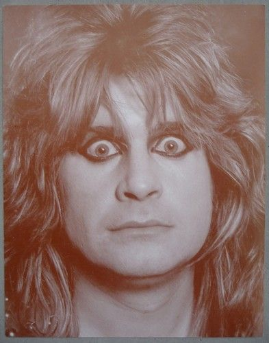 "Madman Ozzy Osbourne Classic Sepia Art Print 11"" x 14"" Home Decor Wall Hanging | eBay"