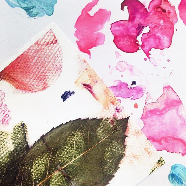 I use a mixture of painting, collage and photography to create ideas for new designs 🌸 Now that little signs of spring are starting to show, there is plenty of inspiration to be found! 🌿