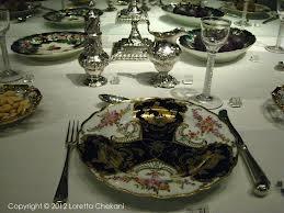 Victorian Silverware Table Setting...