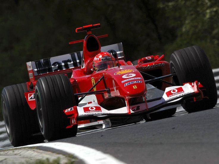 ferrari f2004 | Fastest f1 with v10