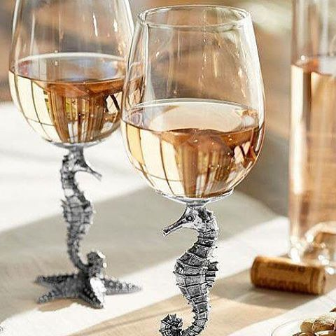 Adorable seahorse glasses from @potterybarn seahorseglasses -