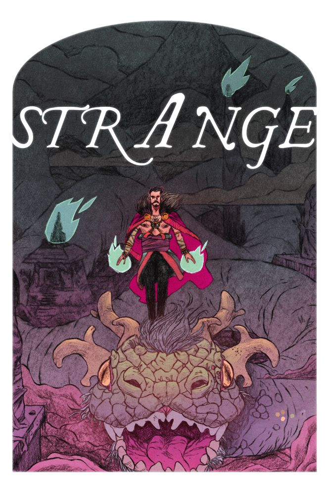 12. The Sorcerer Supreme I think I could really get into drawing a Dr. Strange story if it wereless Doctor, more Strange. Weird is my favorite thing to draw. The Mighty Month of Marvel CONTINUES!!! Vote for your favorites to be featured. And know that as you sleep, the fragile fabric that separates our world from UNFATHOMABLE HORRORS is kept in place by none other than DOCTORSTRANGE!!!!