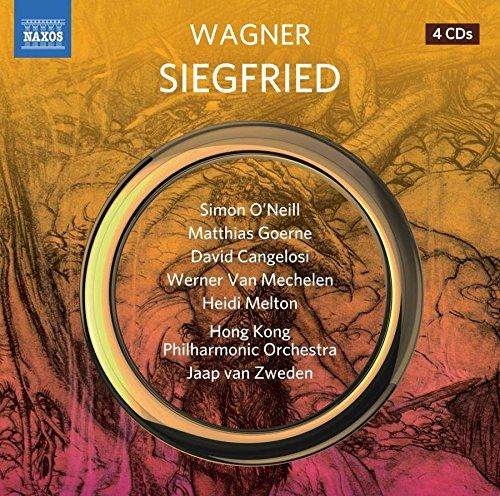 From 19.99 Richard Wagner: Siegfried [simon Oneill; Matthias Goerne; David Cangelosi; Hong Kong Philharmonic Orchestra; Jaap Van Zweden] [naxos: 8660413-16]