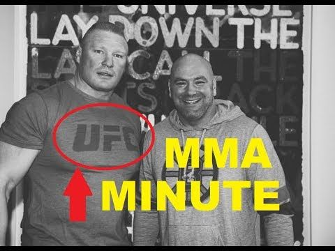 MMA Dana White teasing Brock Lesnar return to UFC