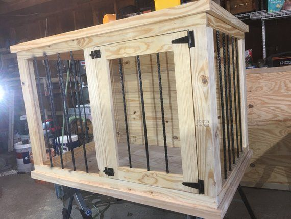 Large Single Dog Kennel Diy Plans Digital Download Etsy In 2020 Diy Dog Crate Dog Furniture Dog Crate Furniture