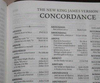 "This ""Bible scholar"" has never heard of a Concordance? #Bible #concordance  http://amzn.to/2dtIksL"