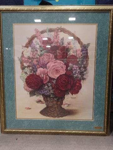 Glynda turley print in full bloom pick for Glynda turley painting