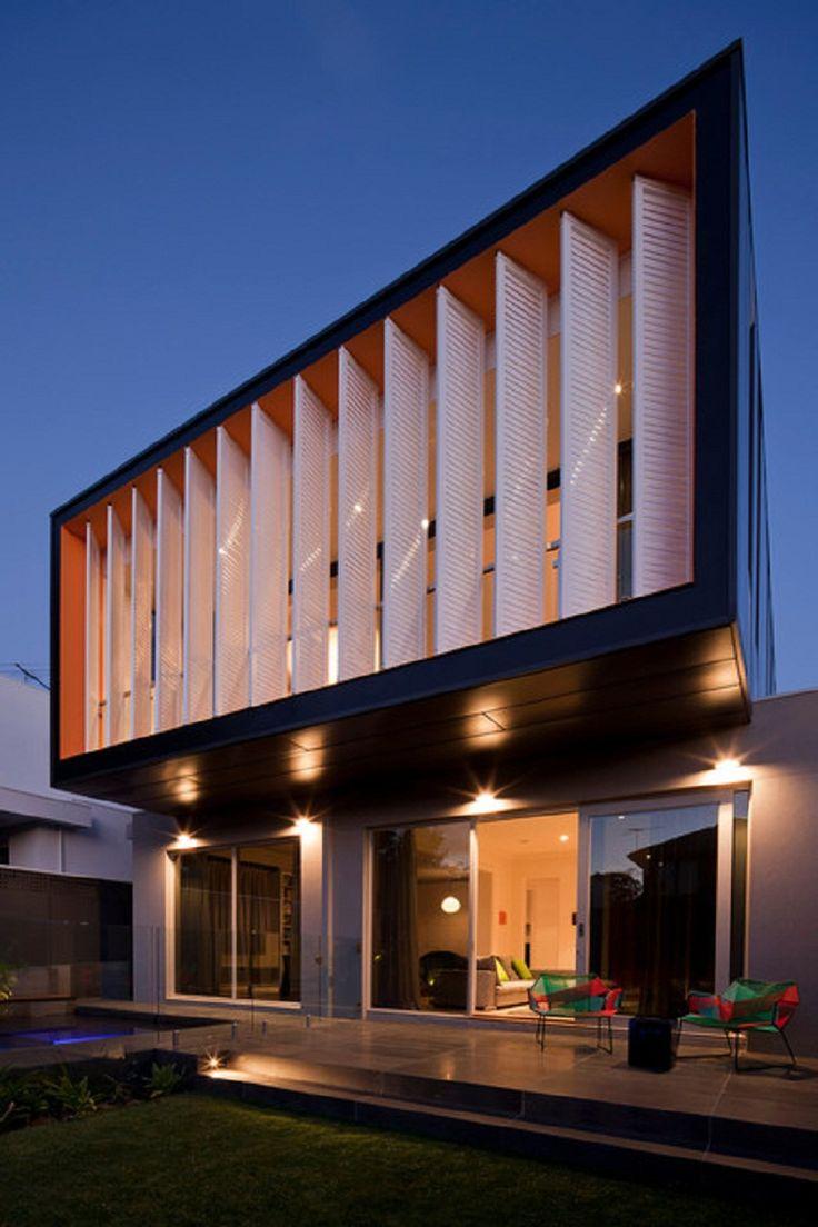 Great Modern Vertical Patio Blinds Exterior Design