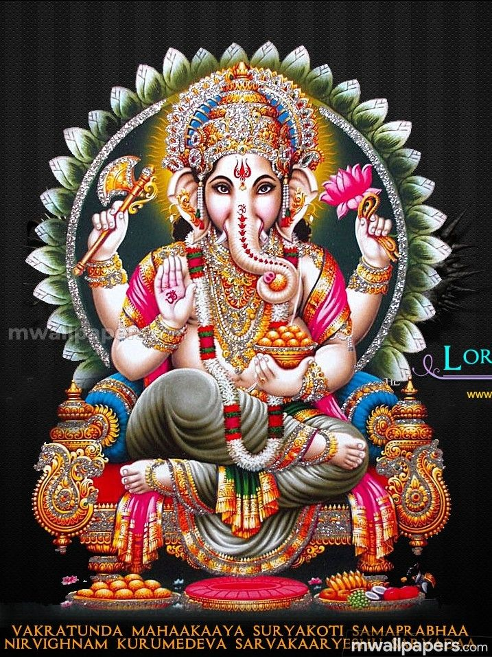 Lord Ganesha Hd Wallpapers Images 1080p 16948 Lordganesha Vinayagar Pillaiyar Ganapati Ganesha God Hind Lord Ganesha Ganesha Lord Ganesha Paintings