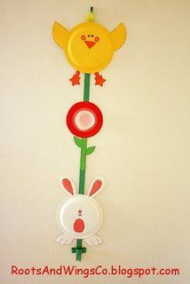 Free Kids Easter paper crafts | Anjeanette submitted her Easter Paper Plate wall hanging. Use  sc 1 st  Pinterest & 58 best Teaching neassie images on Pinterest | Christmas activities ...