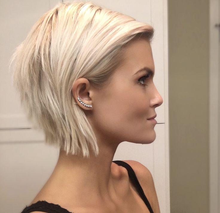 Krissafowles Short Blonde Hair Hair Pinterest Short