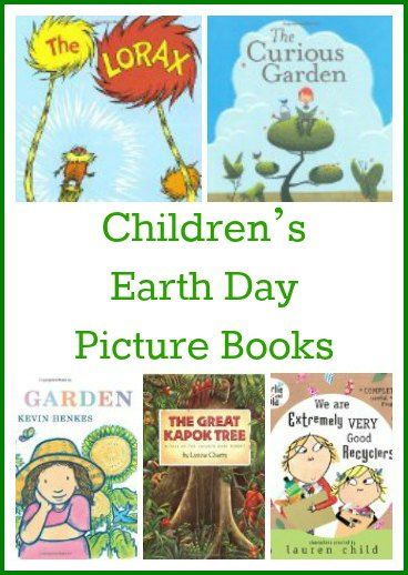 Children's Earth Day Picture Books. Every day should be Earth Day!