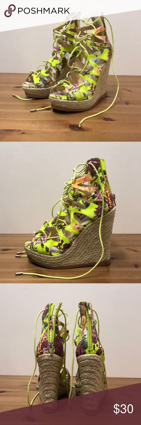 Steve Madden espadrilles 'Thera' 100% Authentic (NEW) Steve Madden 'THEEA' floral Espadrilles | size: 6M | ships without original box Steve Madden Shoes Espadrilles