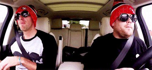 James Corden's Carpool Karaoke with Chris Martin... | Entertainment Weekly
